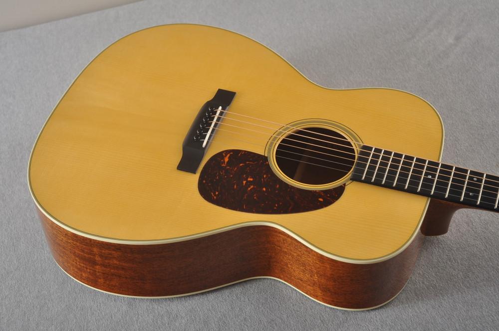 Martin Custom J Jumbo Style 18 GE Adirondack Sinker Mahogany #2241308 -Top Angle