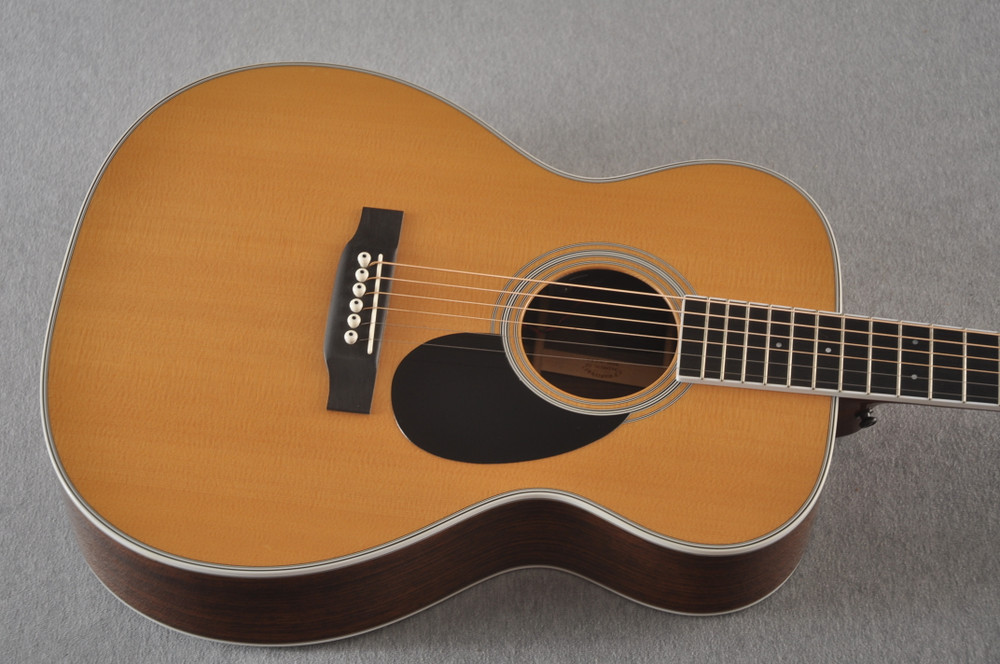 2013 Martin Custom Shop OM Style 35 Acoustic Electric #1702441 - Top