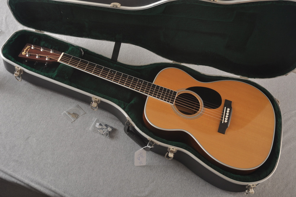 2013 Martin Custom Shop OM Style 35 Acoustic Electric #1702441 - Case