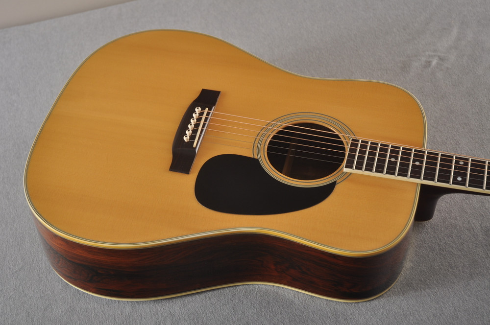 1977 Takamine F375S D-35 style #77082535 - Top Angle