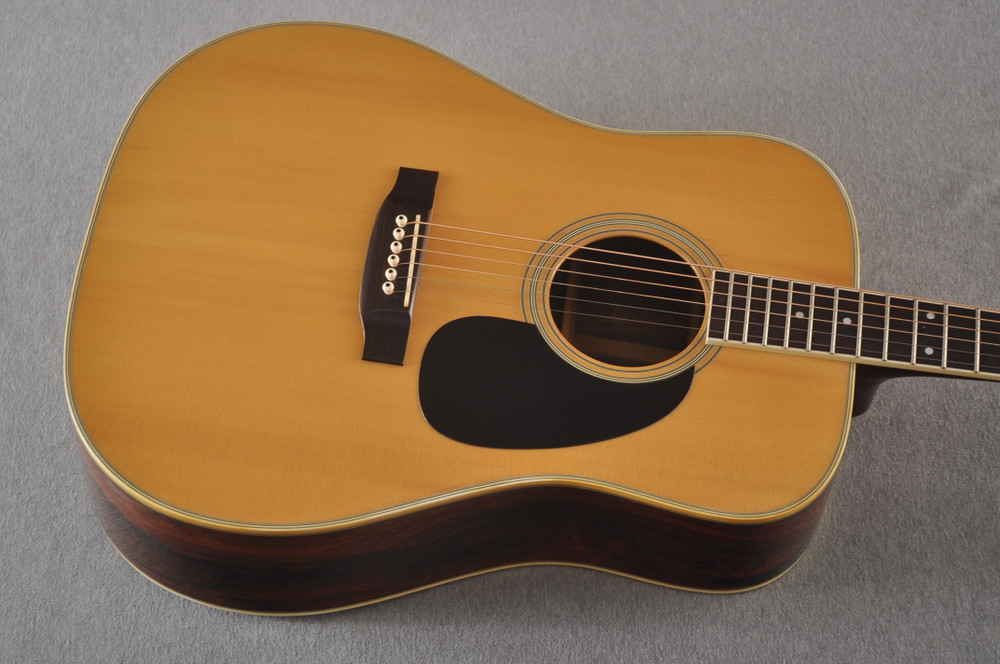1977 Takamine F375S D-35 style #77082535 - Top