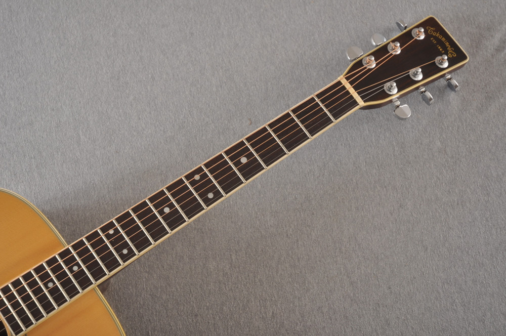 1977 Takamine F375S D-35 style #77082535 - Neck