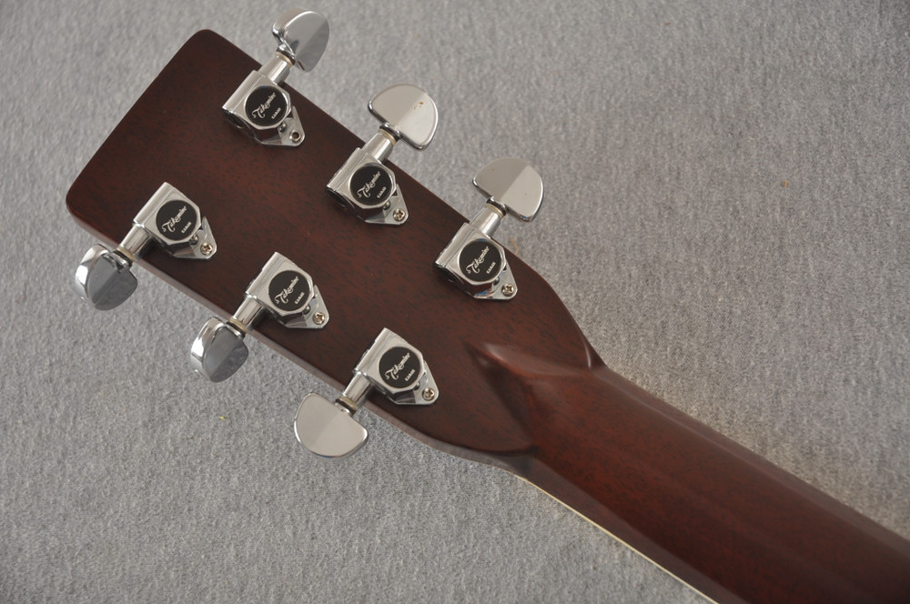 1977 Takamine F375S D-35 style #77082535 - Back Headstock