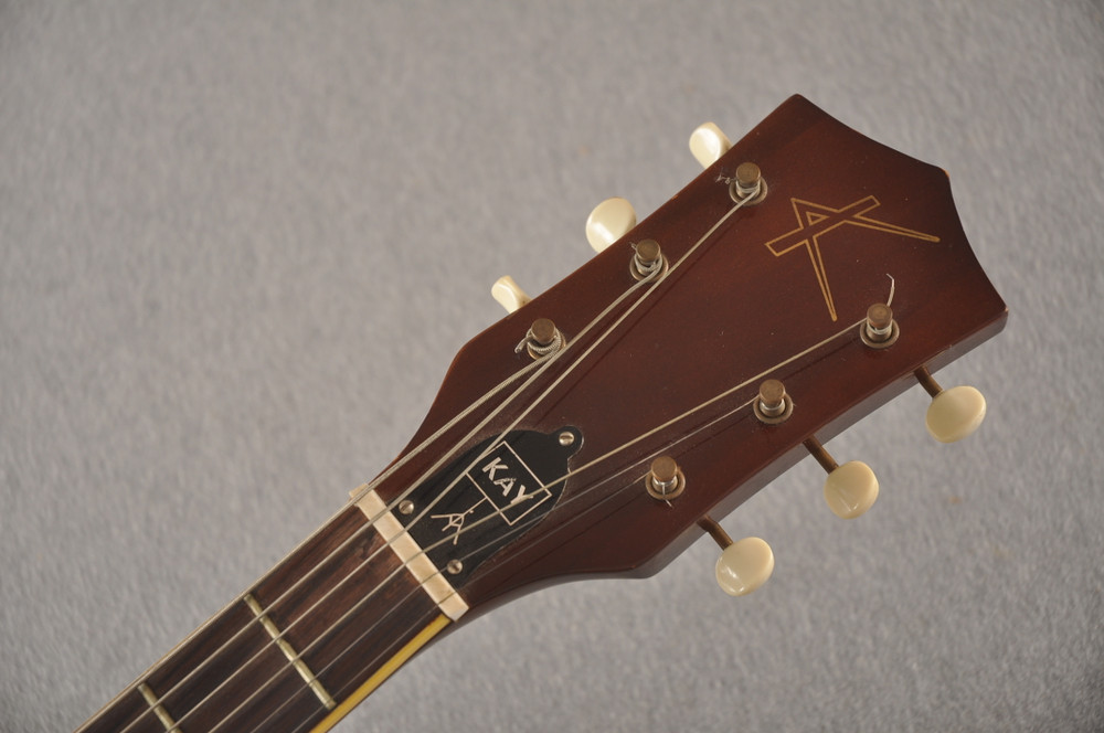 1960s Kay Galaxie Electric Guitar - Headstock