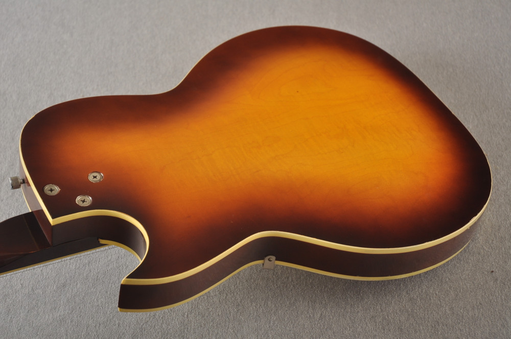 1960s Kay Galaxie Electric Guitar - Back Angle