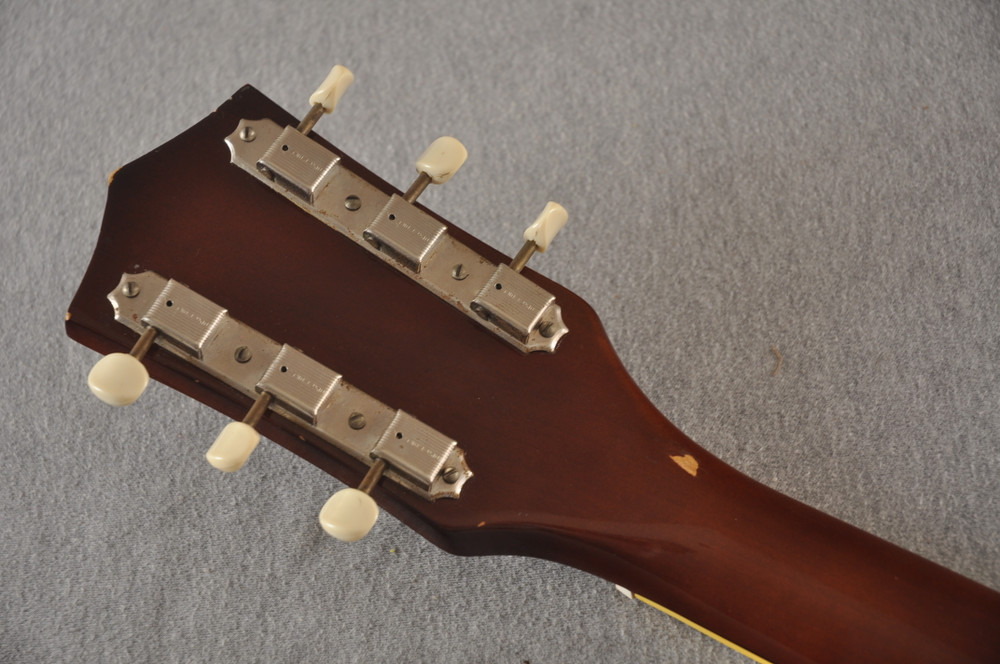 1960s Kay Galaxie Electric Guitar - Back Headstock
