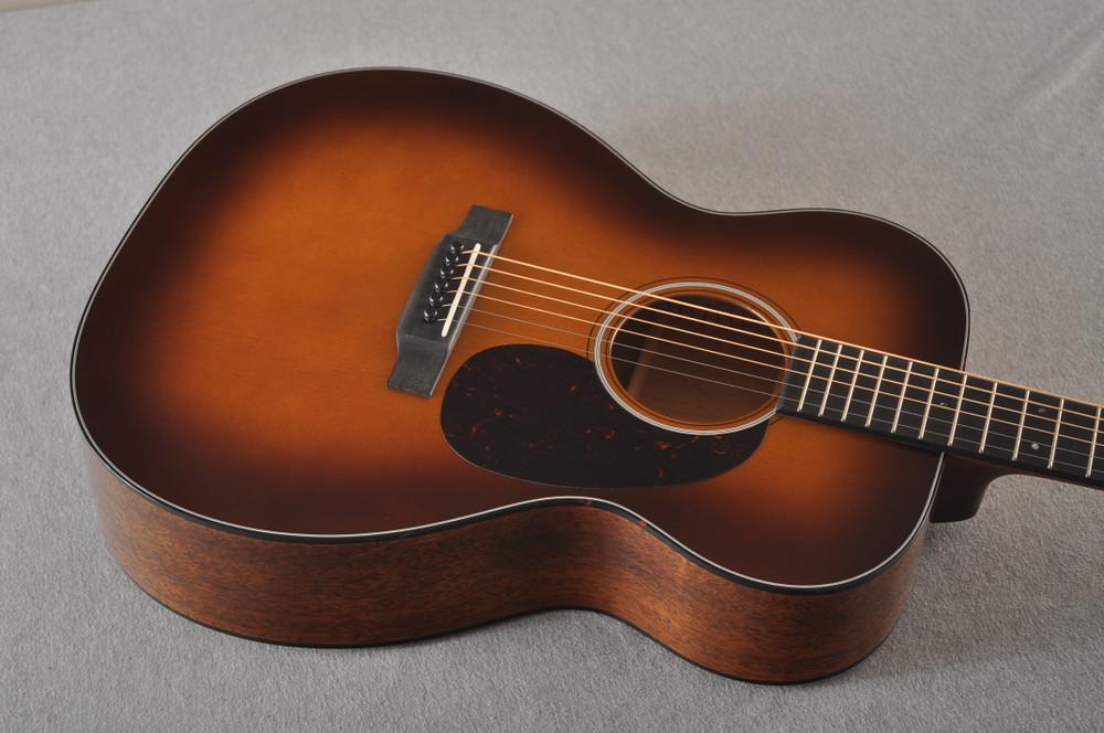 Martin 000 Custom Style 18 Adirondack Ambertone Guitar #2483234 - Top Angle
