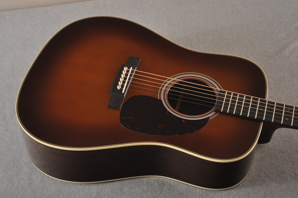 Martin Custom HD Style 28 Adirondack Ambertone #2483255 - Top