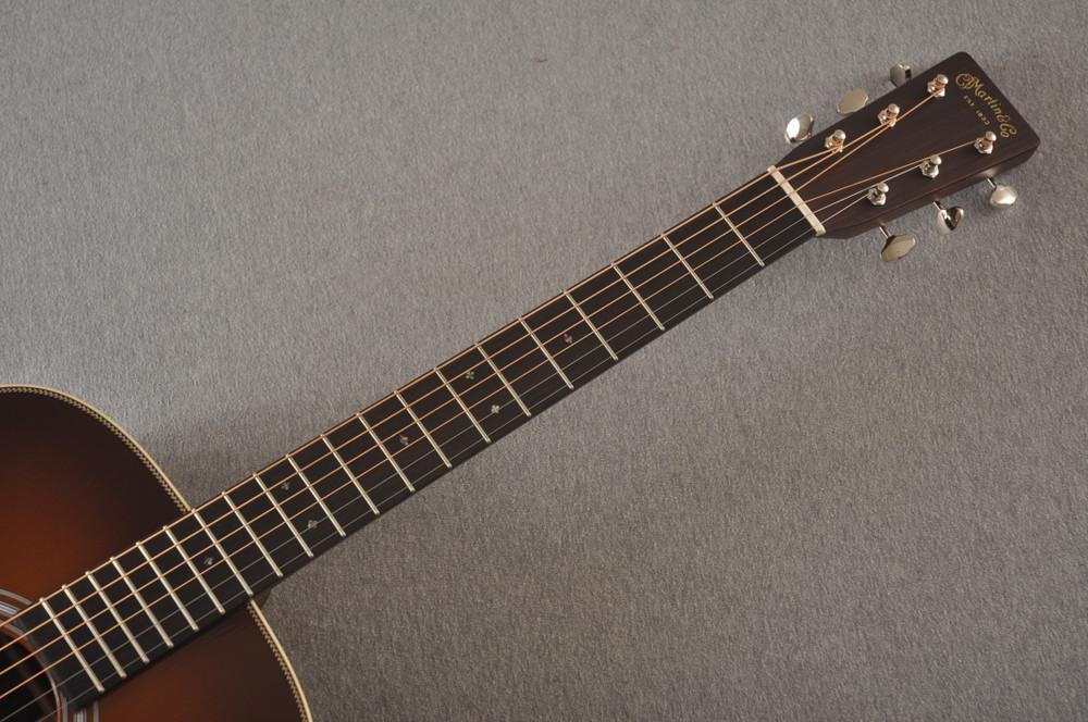 Martin Custom HD Style 28 Adirondack Ambertone #2483255 - Neck