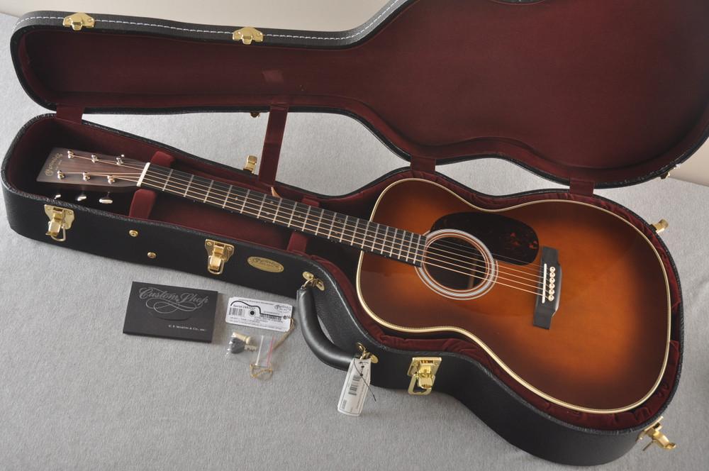 Martin Custom 000 Style 28 Adirondack Ambertone Guitar #2483237 - Case