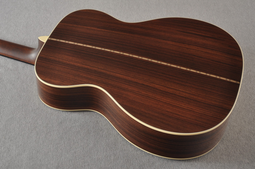 Martin Custom 000 Style 28 Adirondack Ambertone Guitar #2483237 - Back Angle