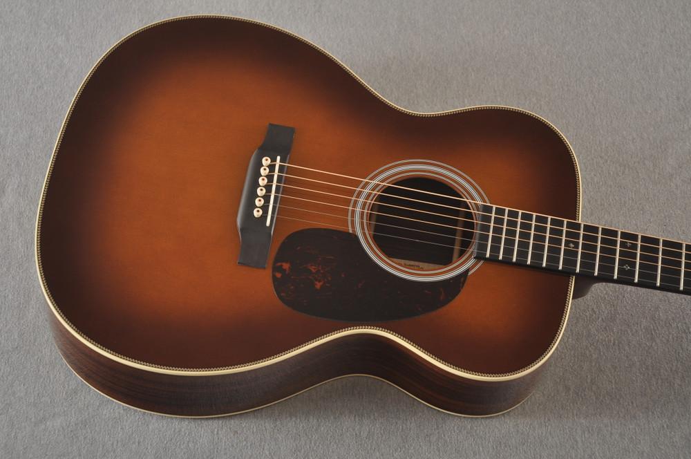 Martin Custom 000 Style 28 Adirondack Ambertone Guitar #2483237 - Top
