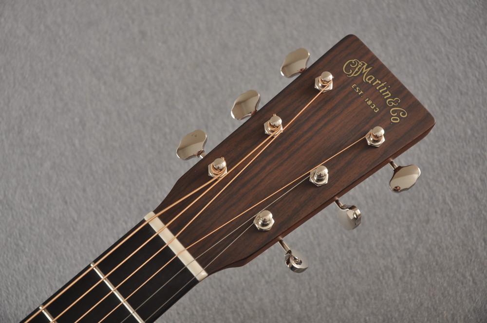 Used 2020 Martin Custom D 18 Adirondack Sunburst #2397727 - Headstock