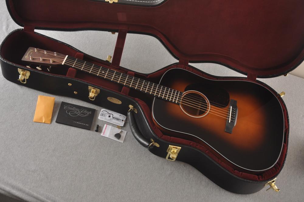 Martin Custom D Style 18 GE Adirondack Sinker Sunburst #2483247 - Case