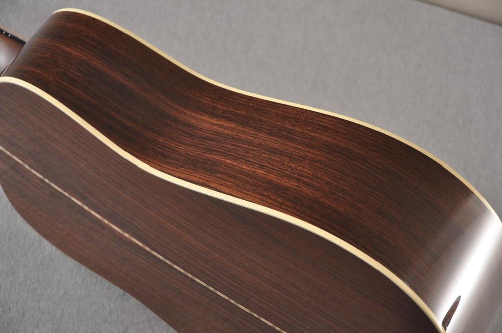 Martin D-28 Sunburst Standard Dreadnought Guitar #2522330 - Side