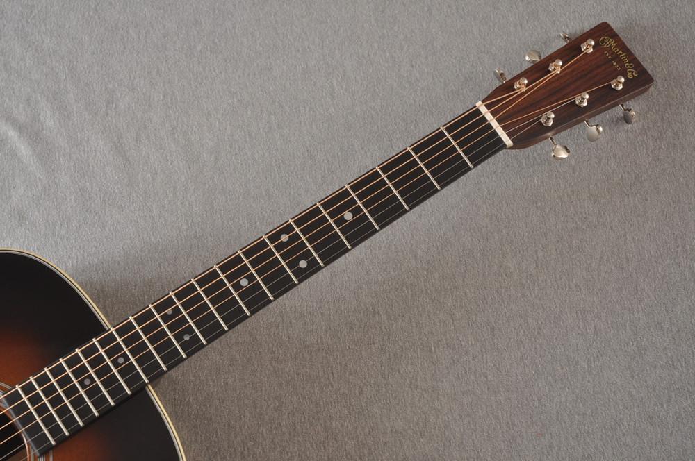 Martin D-28 Sunburst Standard Dreadnought Guitar #2522330 - Neck