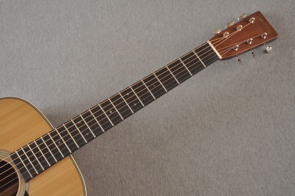 Martin D-28 Authentic 1937 VTS Dreadnought Guitar #2496089 - Neck