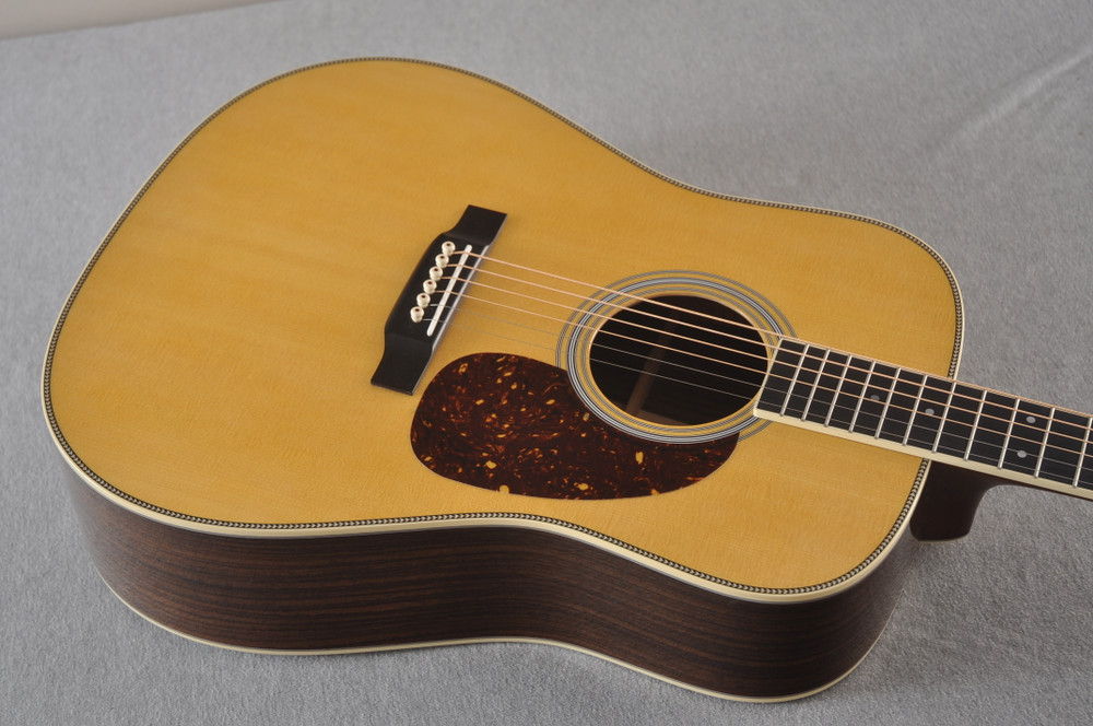 Martin HD-35 Dreadnought Standard Acoustic Guitar #2502668 - Top Angle