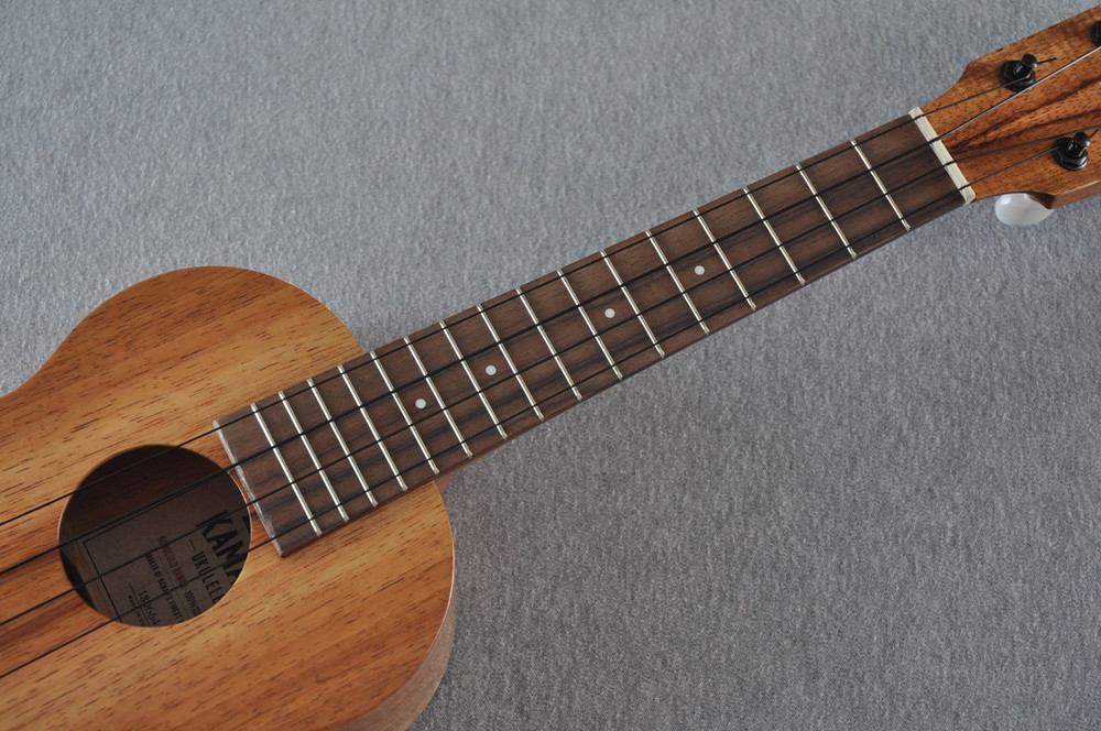Kamaka Concert Ukulele HF-2 - Solid Koa - New 2018 - Made in USA - 180664 - View 3