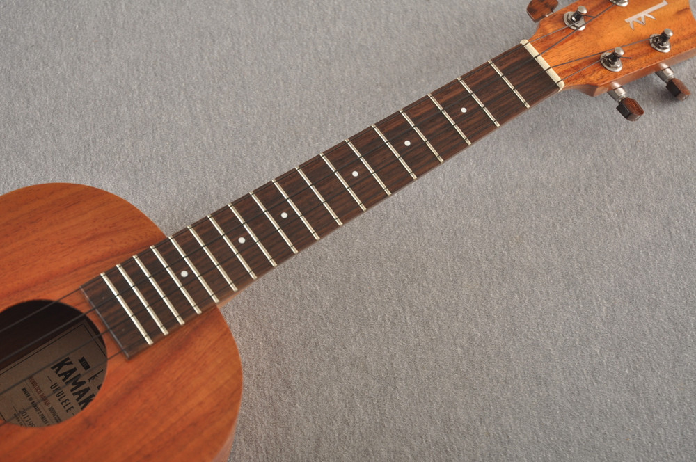 Kamaka HF-3 Tenor Ukulele Made In Hawaii - Hawaiian Koa - 201199 - View 5