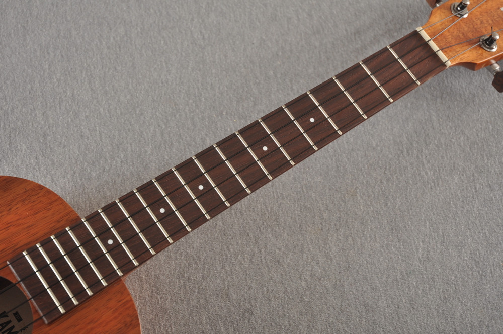 Kamaka Long Neck Tenor Ukulele HF-3L - Hawaiian Koa - 192643 - View 7