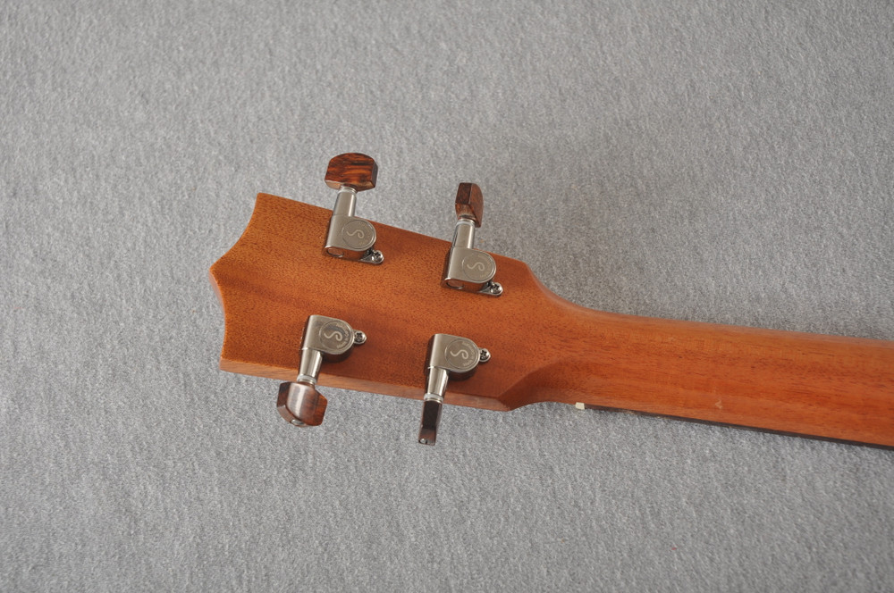 Kamaka Long Neck Tenor Ukulele HF-3L - Hawaiian Koa - 192643 - View 8