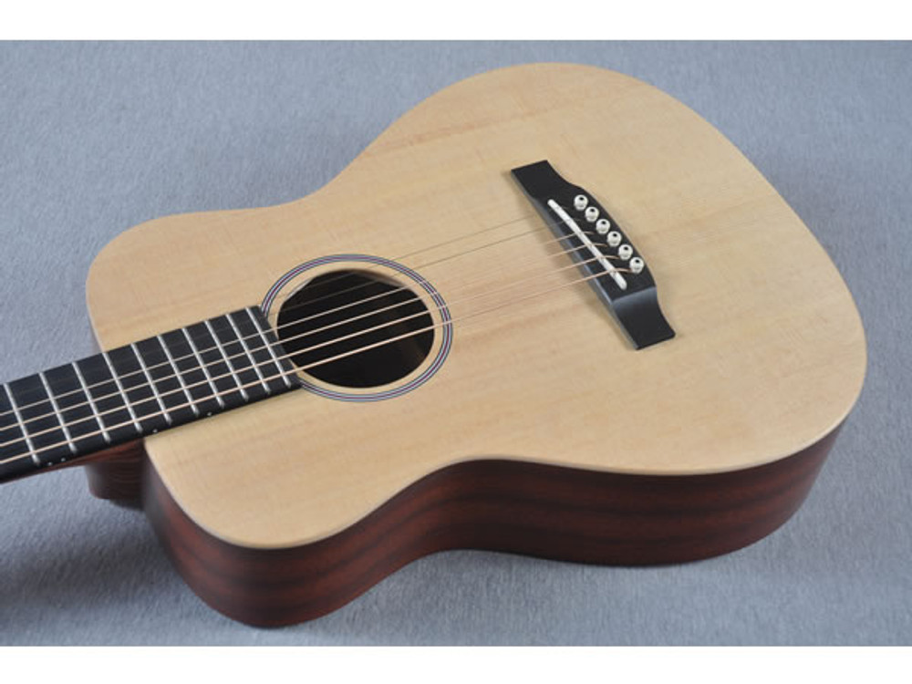 Little Martin LX1 Acoustic Guitar - Small Childs Children - Top View 1