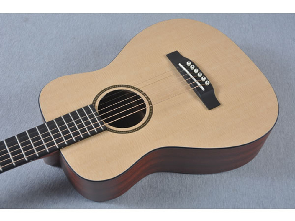 Little Martin LXM Acoustic Guitar - Side View