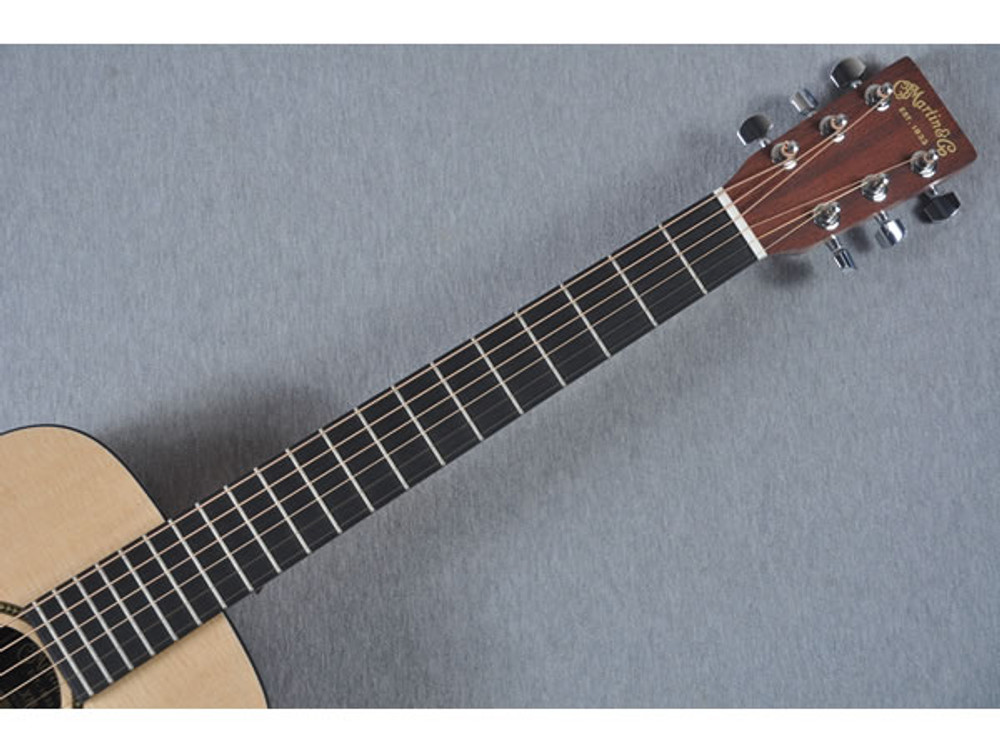 Little Martin LXM Acoustic Guitar - Fingerboard View