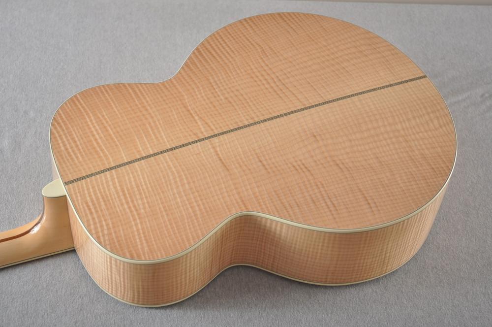 Eastman AC630-BD Jumbo Acoustic Guitar Solid Engleman Spruce Top - View 8