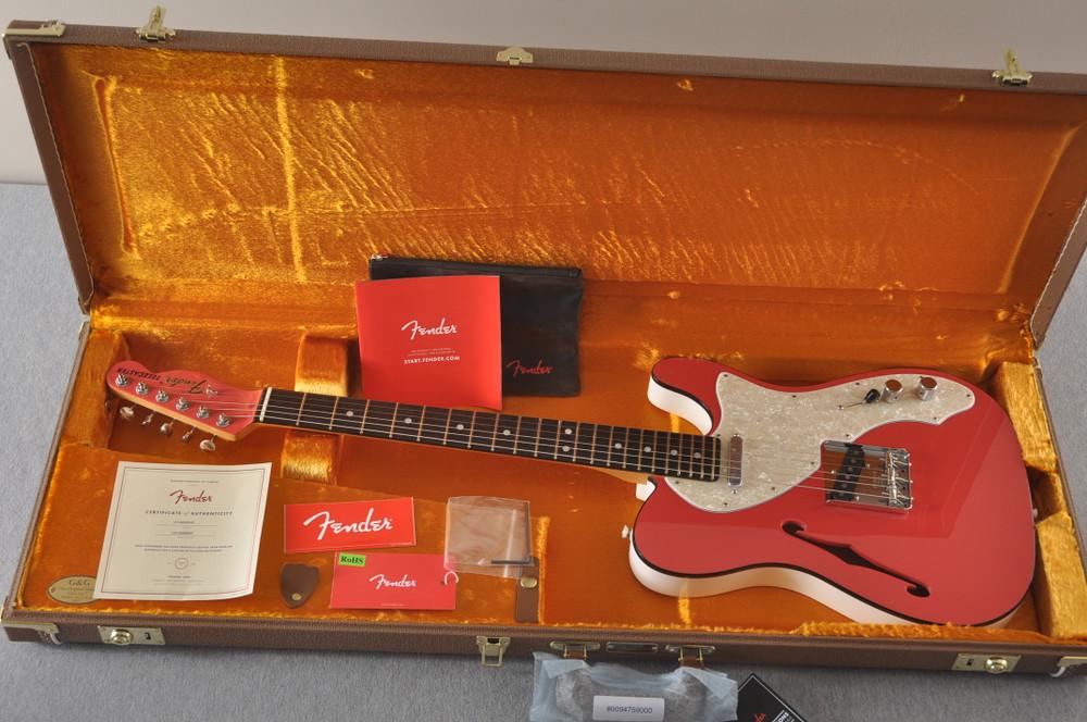 Fender American Telecaster Thinline Ltd Edition - Fiesta Red - View 2