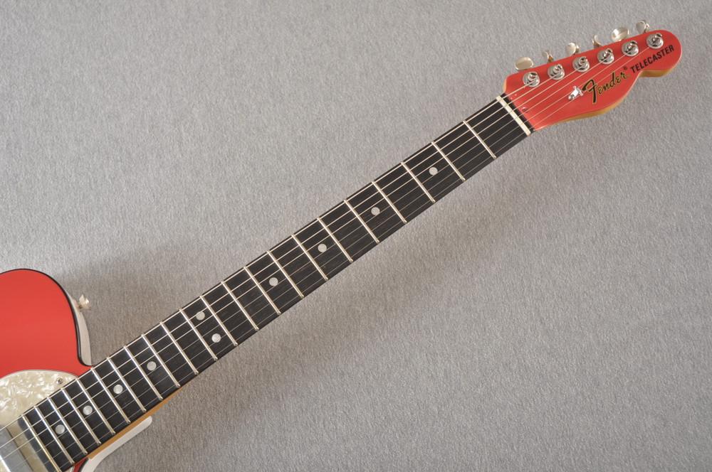 Fender American Telecaster Thinline Ltd Edition - Fiesta Red - View 3