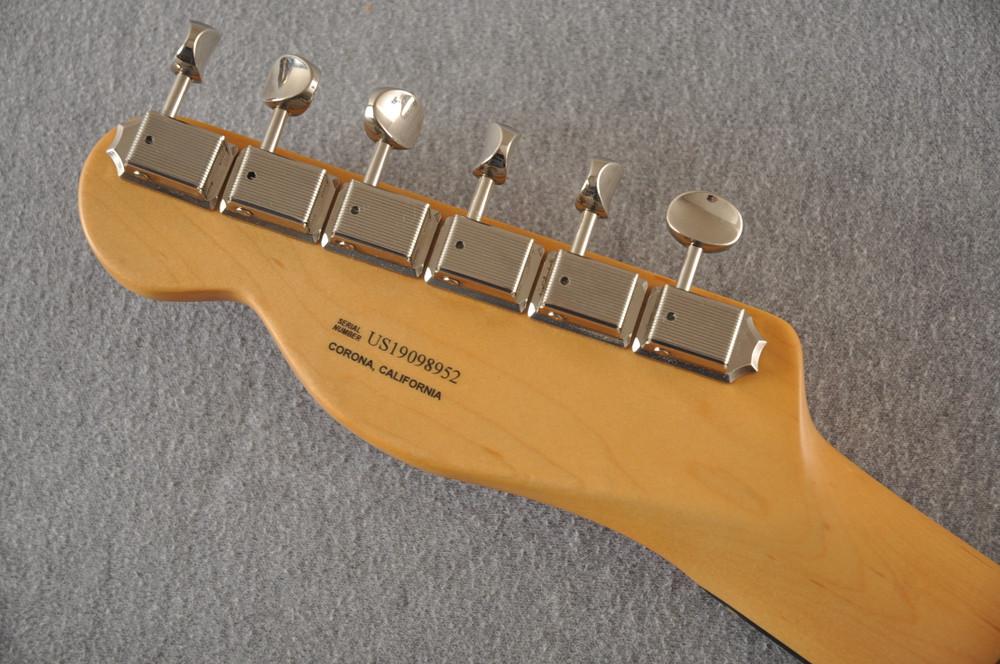 Fender American Telecaster Thinline Ltd Edition - Fiesta Red - View 8