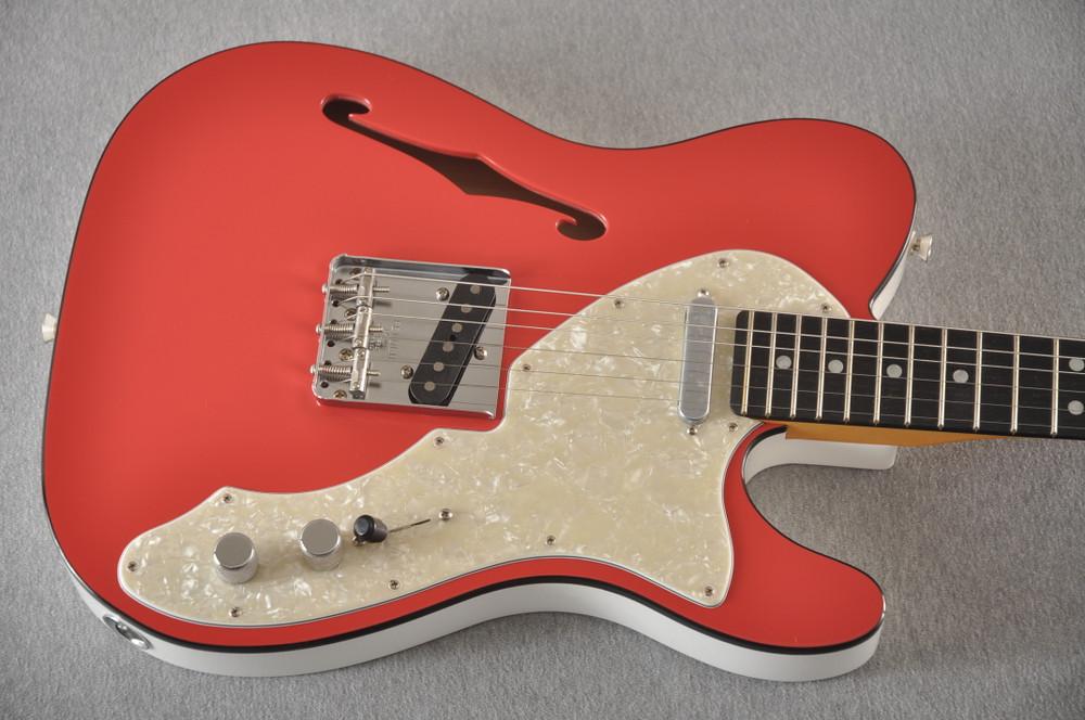 Fender American Telecaster Thinline Ltd Edition - Fiesta Red - View 10