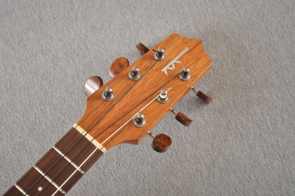 Kamaka Tenor 6 String Ukulele - Hawaiian Solid Koa HF-36 - 200720 - View 3
