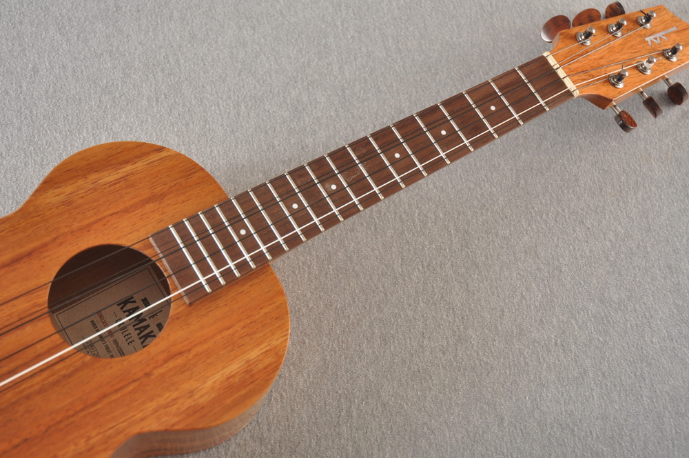 Kamaka Tenor 6 String Ukulele - Hawaiian Solid Koa HF-36 - 200720 - View 4