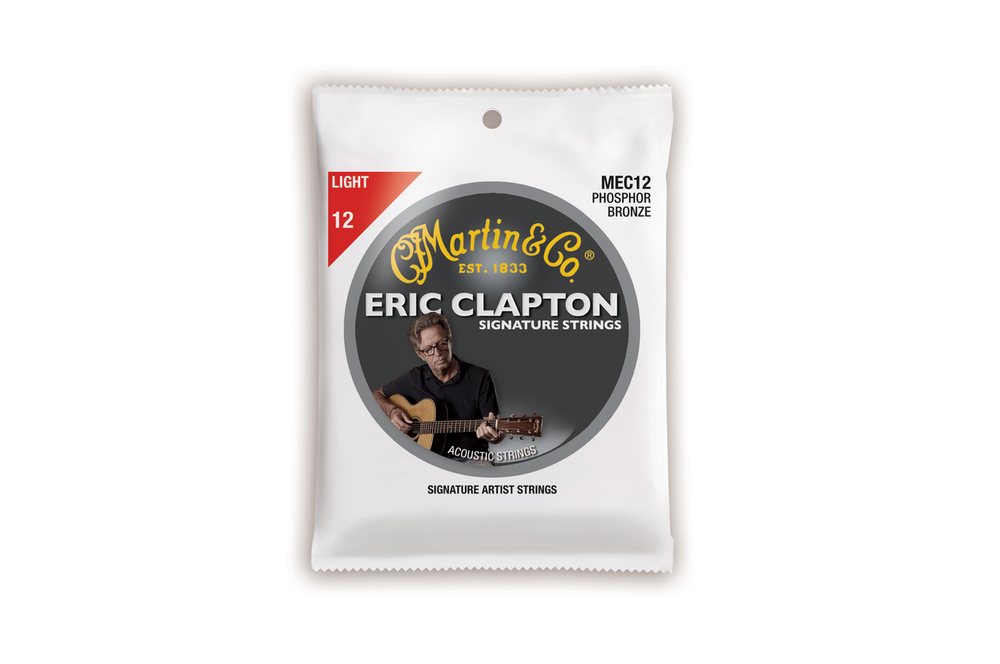 Martin Guitar Strings MEC12 - Eric Clapton - Light Gauge