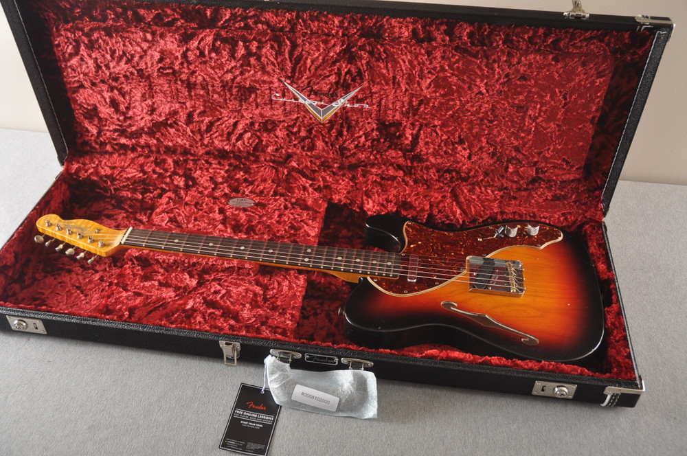 Fender Custom Shop Limited Edition 60's Telecaster Thinline - View 2
