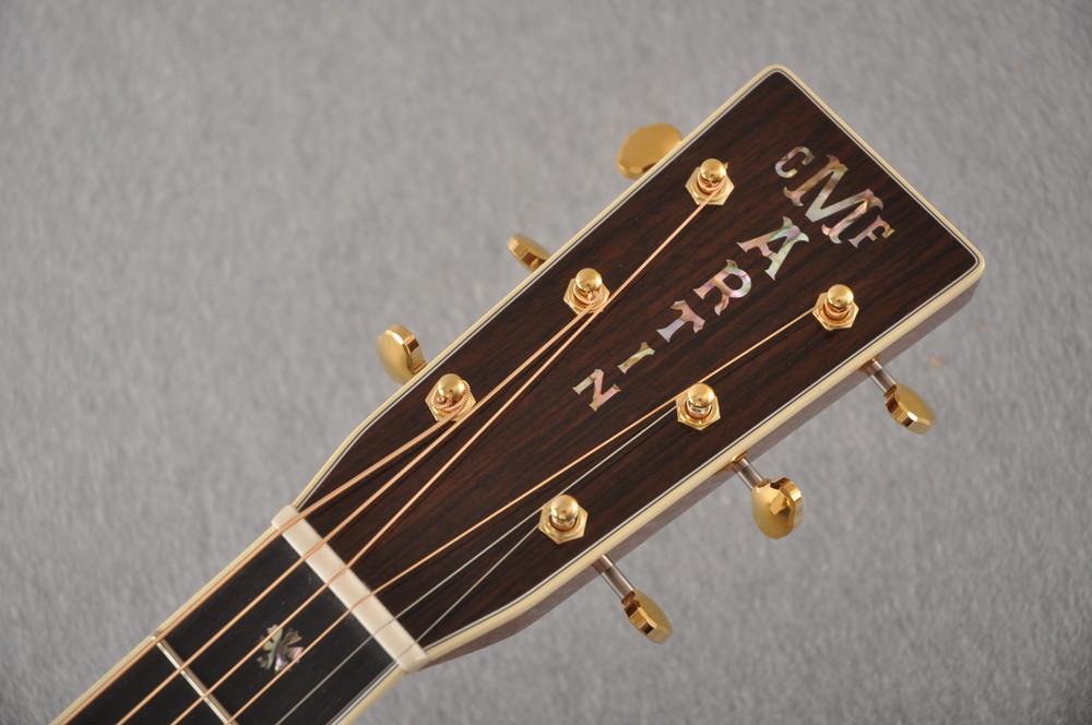 Martin 000-42 Standard Acoustic Guitar #2255826 - Headstock