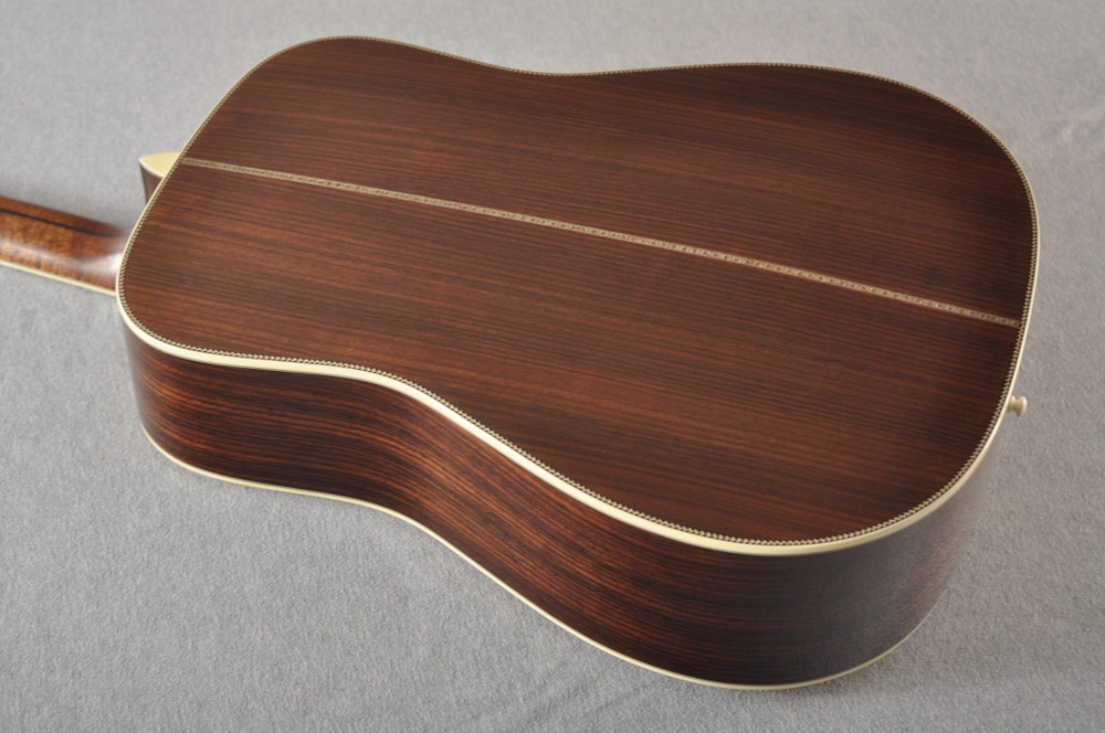 Eastman E40D Acoustic Guitar Dreadnought Adi Top Hand Scalloped - View 8