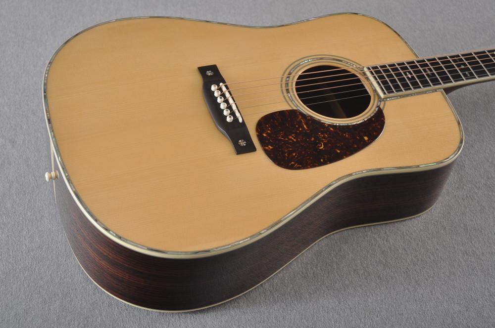 Eastman E40D Acoustic Guitar Dreadnought Adi Top Hand Scalloped