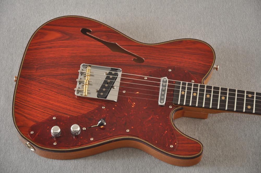 Fender Custom Shop Telecaster Thinline Artisan Cocobolo 7.44 lbs - View 8