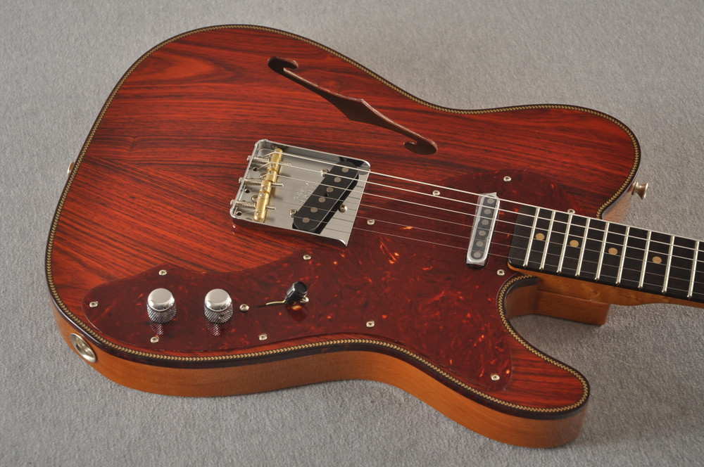 Fender Custom Shop Telecaster Thinline Artisan Cocobolo 7.44 lbs - View 10