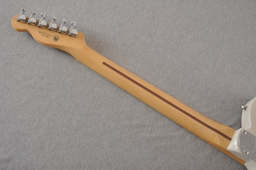 Fender Deluxe Nashville Tele - White Blonde Telecaster - View 6