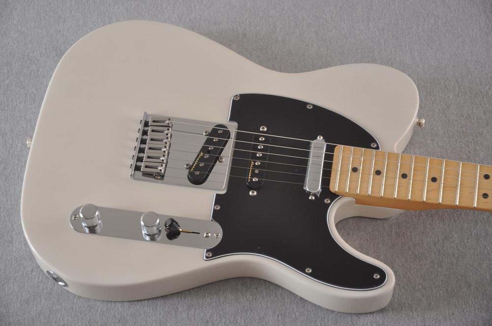 Fender Deluxe Nashville Tele - White Blonde Telecaster - View 7