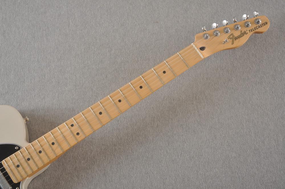 Fender Deluxe Nashville Tele - White Blonde Telecaster - View 8