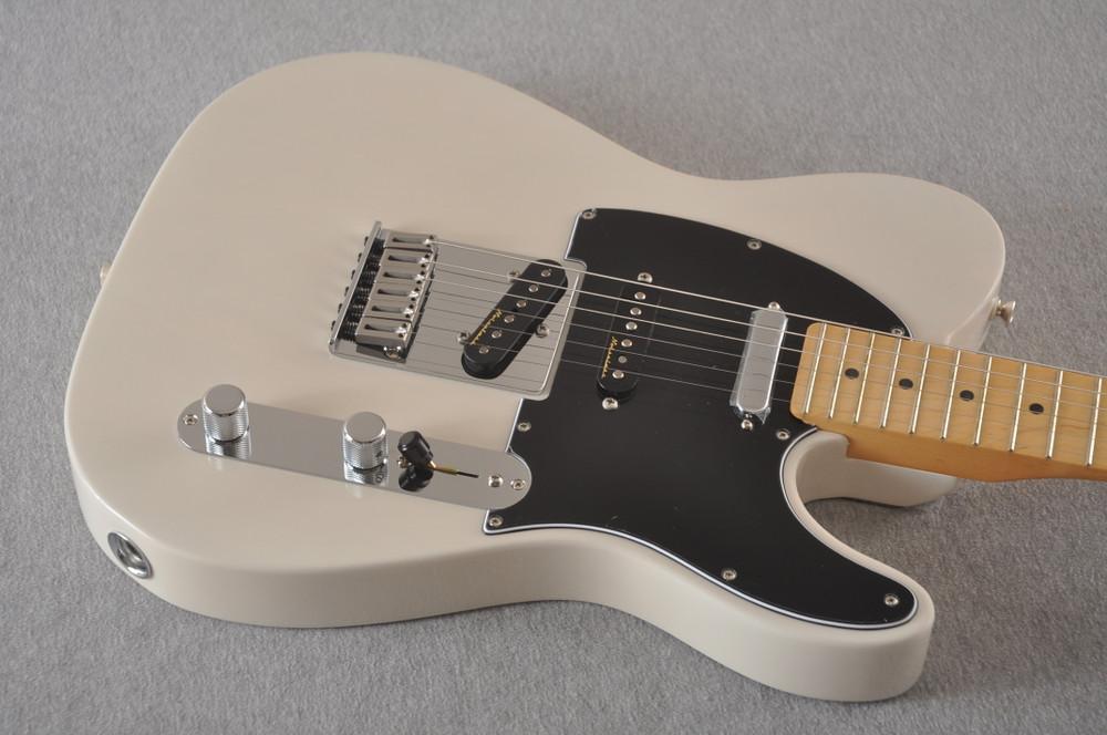 Fender Deluxe Nashville Tele - White Blonde Telecaster - View 10