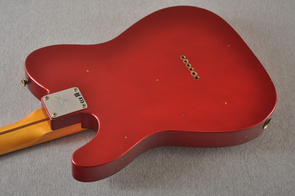 Fender Custom Shop 1957 Telecaster Relic Candy Apple Red - View 8