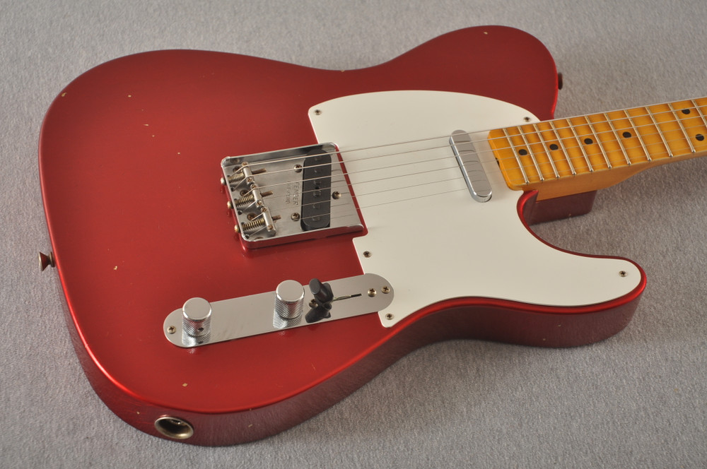 Fender Custom Shop 1957 Telecaster Relic Candy Apple Red
