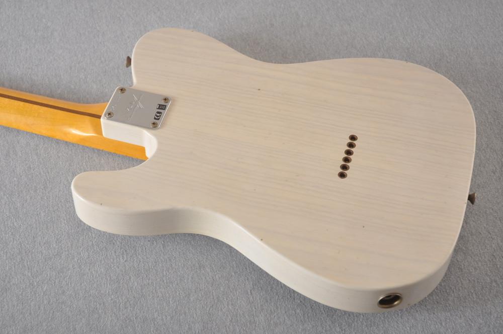 Fender Custom Shop 1957 Telecaster Journeyman Relic White Blonde - View 7